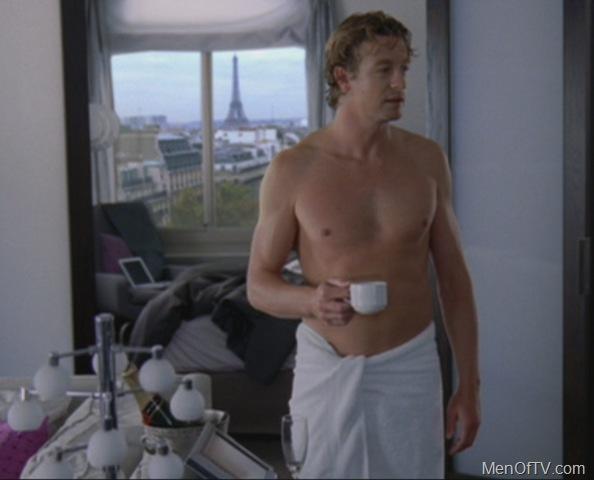 Simon baker nude