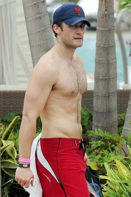 Matthew Morrison Shirtless in Miami