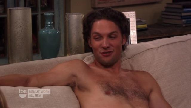 ... Cassidy Shirtless in Men at Work | MenofTV.com | Naked Men of TV
