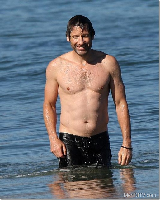 david-duchovny-shirtless