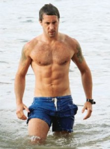 Alex O'Loughlin Shirtless