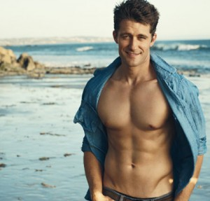 Matthew Morrison Shirtless