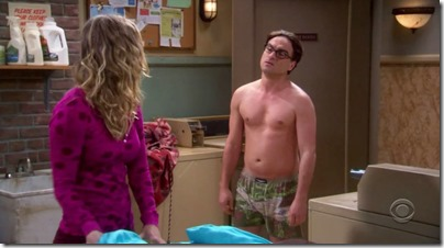 johnny galecki shirtless big bang theory