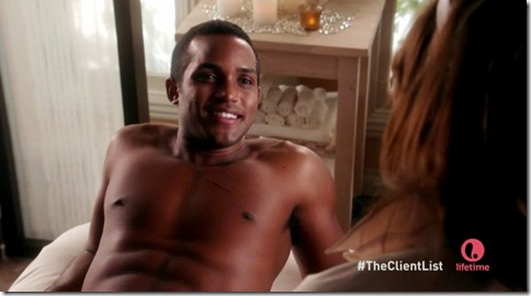Sterling Sulieman shirtless the client list